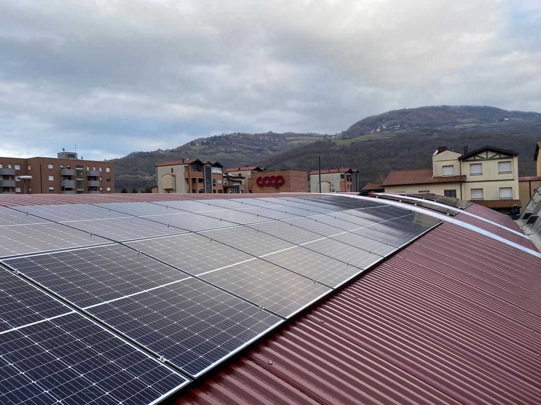 rifacimento coperture impianti fotovoltaici vergato